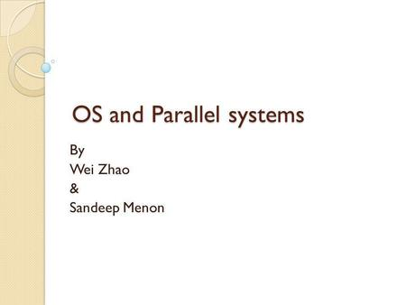 Paper presentation topics on embedded system
