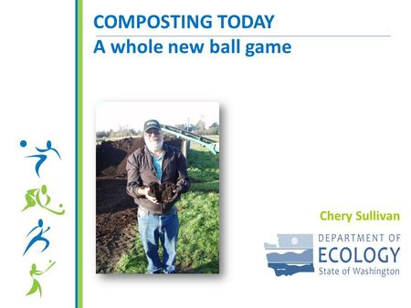 COMPOSTING TODAY A whole new ball game Chery Sullivan.