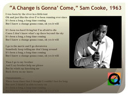 A change is gonna come mp3 download.