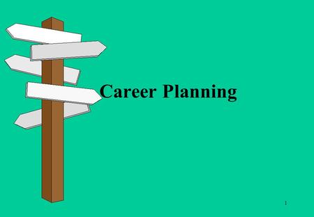 1 Career Planning. 2 When you have completed this units you will be able to: identify what is important to you in terms of your career understand what.