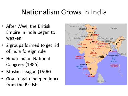 did british policies lead to partitions of india history essay In the brookings essay,  once the summer capital of british india  india, which did not recognize the regime,.