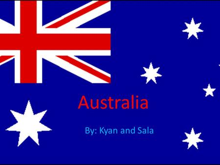 Australia By: Kyan and Sala. The Sydney Harbour Bridge The Harbour Bridge was opened in 1932 The Harbour Bridge has four Rectangles on the side called.