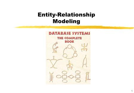 1 Entity-Relationship Modeling. 2 ER Graphical modeling technique Informal, understandable for laymen Coarse technique to design tables Provides rules.