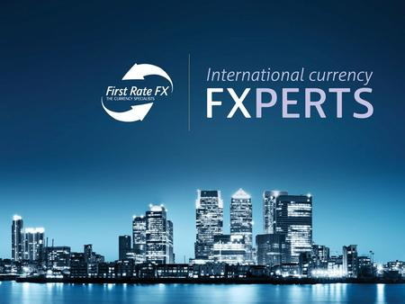 WHY USE FIRST RATE FX ? First Rate FX was created in 2005 to offer a cost effective solution to the high street banks. From our UK head office in the.