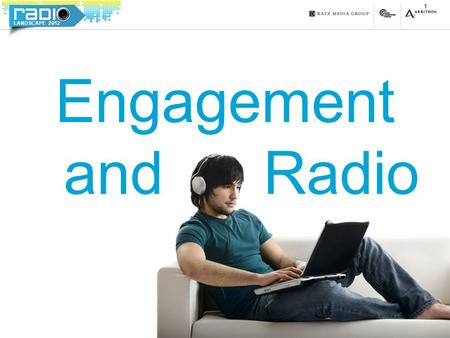 LANDSCAPE 2012 Engagement and Radio 1. LANDSCAPE 2012 2 82% A personal, para-social interaction with their favorite Radio personality 79% Listen longer.