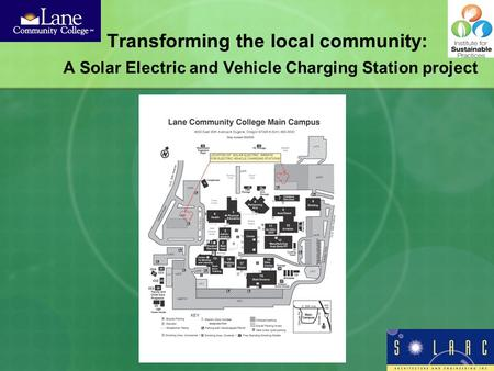 Transforming the local community: A Solar Electric and Vehicle Charging Station project.