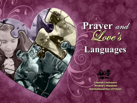 Prayer and Love's Languages