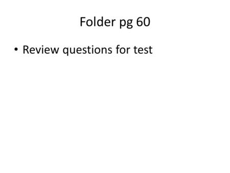 Folder pg 60 Review questions for test. 2. A crown has a mass of 500 g. It displaces 25 mL of water. What is the density of the crown? A. 5 g/cm 3 B.