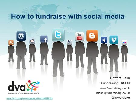 Howard Lake Fundraising UK Ltd How to fundraise with social media