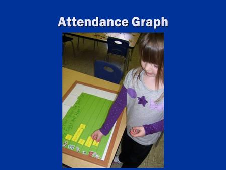 Attendance Graph. Counting, Comparing And Doing Simple Math.