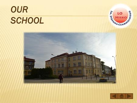 The building of High School in Nisko is a beautiful point of the town. It's located in the town centre.