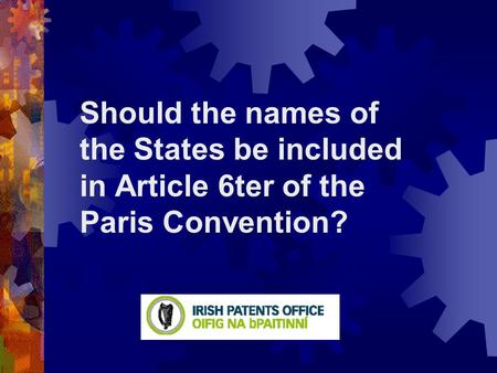 Should the names of the States be included in Article 6ter of the Paris Convention?