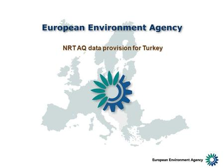 NRT AQ data provision for Turkey. NRT air quality display - ozone.