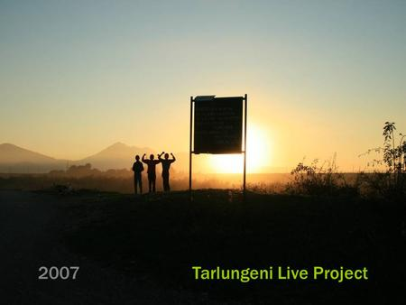 2007 Tarlungeni Live Project. We've been given a project with no outline; in a country we know nothing of, with a client we don't know and a language.