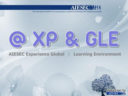 AIESEC Experience Global | Learning Environment.