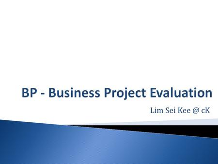 Lim Sei cK. Evaluation is part of a larger program planning process. First, you plan the project. Then you implement it. Lastly, you evaluate it.