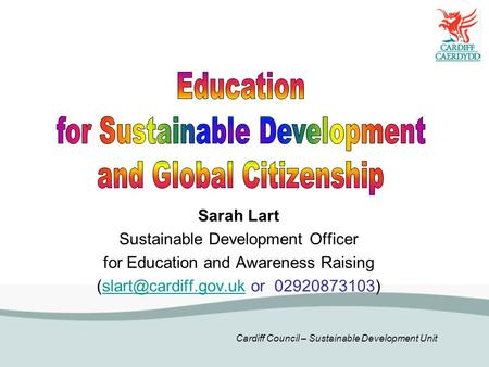 for Sustainable Development and Global Citizenship