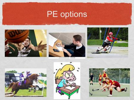 PE options. GCSE Physical Education BTEC Sport 2 options:
