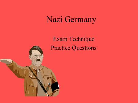 Exam Technique Practice Questions