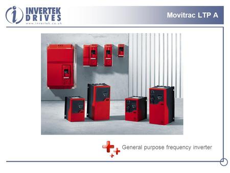 Movitrac LTP A General purpose frequency inverter.