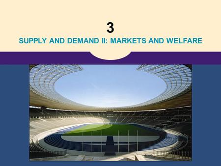 3 SUPPLY AND DEMAND II: MARKETS AND WELFARE. Copyright © 2006 Thomson Learning 7 Consumers, Producers, and the Efficiency of Markets.