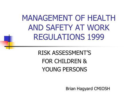 cyp 3 1 support children and young peoples health and safety Lovely primary school   14 the rights and choices of children and young people and health and safety requirements  we are responsible for the safety of the.