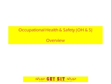 Occupational Health & Safety (OH & S) Overview. Human and Money Costs Each year in Australia, about 3,000 people die from workplace accidents and diseases.