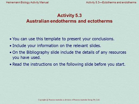 heinemann biology activity manual activity 3 1 urey and miller s rh slideplayer com Practical Biology Questions Biology Lab Practical