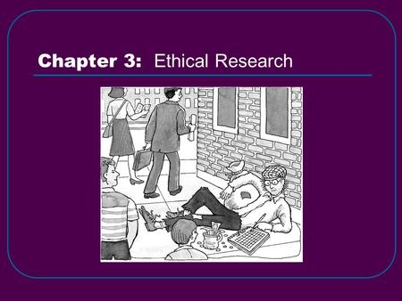 Chapter 3: Ethical Research. Stanley Milgram's Obedience to Authority Experiment (1961-1965) [p38]