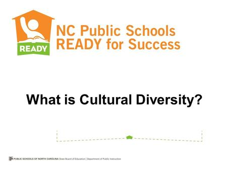 What is Cultural Diversity?. How would you define cultural diversity?