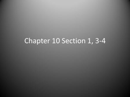 Chapter 10 Section 1, 3-4. Warm-Up List the data in order from least to greatest. 1.) 23, 45, 61, 87, 91, 16, 22, 52 2.) 4.1, 4.2, 4.13, 4.15, 4.3 3.)