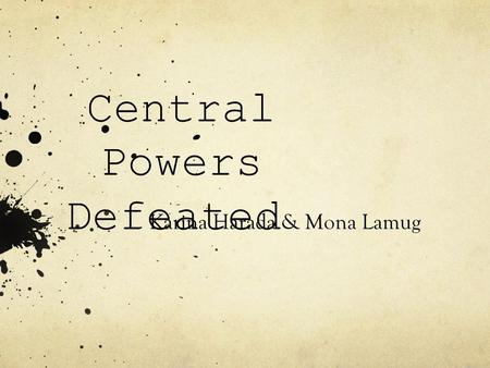 Central Powers Defeated Karina Harada & Mona Lamug.
