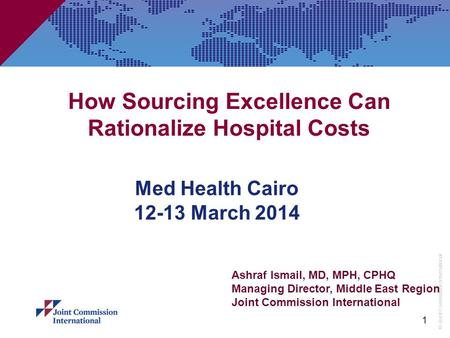 How Sourcing Excellence Can Rationalize Hospital Costs