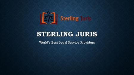 STERLING JURIS World's Best Legal Service Providers.