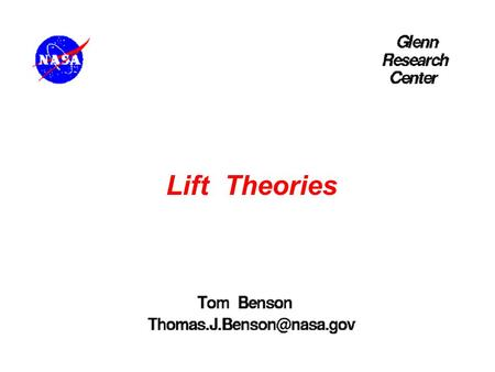 Lift Theories Linear Motion.
