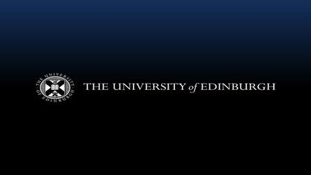 The changing student experience of Tier Four compliance An overview of how the University of Edinburgh's approach to Tier Four requirements has been shaped.