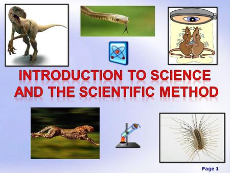 Introduction to Science and the Scientific Method
