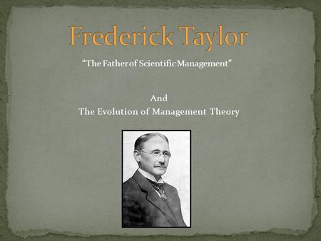 "the evolution of management theory notes A review of the evolution of management schools of thought  in his book ""management and organizational theory"", several school of thought s were ."