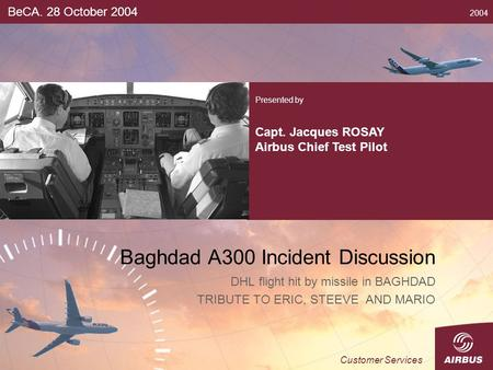 Baghdad A300 Incident Discussion