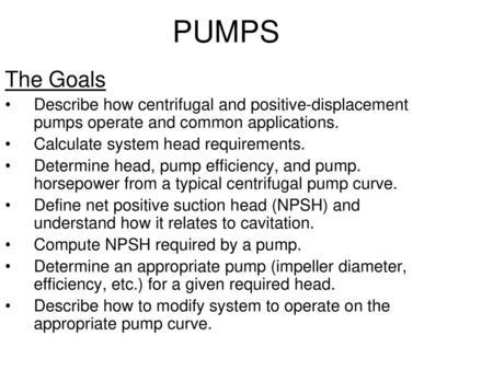 Pumps, Compressors, Fans, Ejectors and Expanders - ppt video