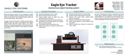 DIY Eye Tracking A Research Proposal by Allen Vartanian