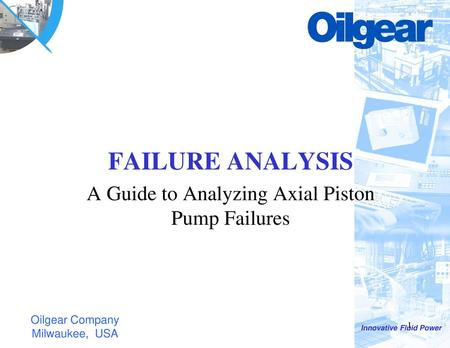 Shaft Seal Failure Analysis Guide - ppt download