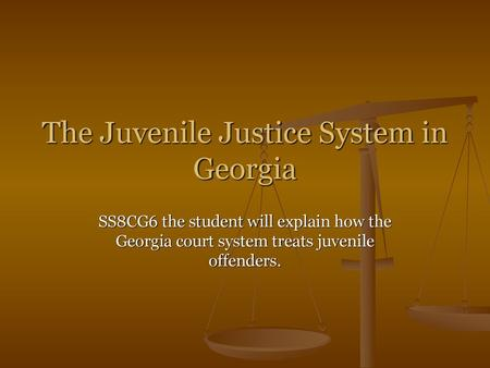 Georgia State Judicial Branch - ppt video online download