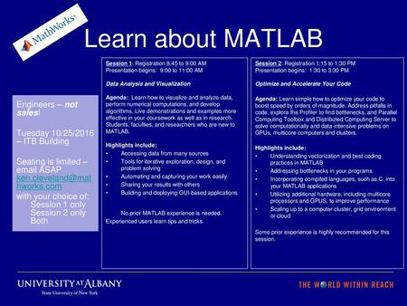 MATLAB, Big Data, and HDF Server - ppt download