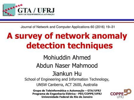 Anomaly Detection  - ppt download