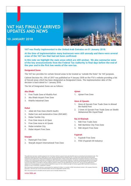 PART THREE: PROSPECTIVE SECTORS FOR INVESTMENT in the UAE 3 5 UAE