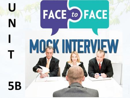 Mock interviews Mock interview activity - ppt download