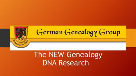 Introduction to GEDmatch: Tools for DNA & Genealogy Research Ottawa