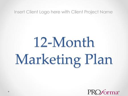 Insert Client Logo here with Client Project Name