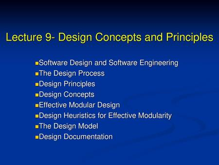 Design Concepts And Principles Ppt Video Online Download